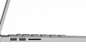 Bản lề của Surface Book.
