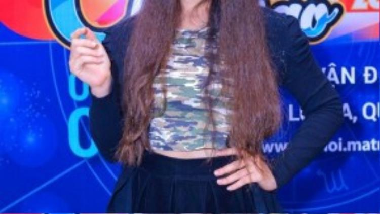 Diana Nguyễn - Top 10 Hoa khôi Áo dài 2014