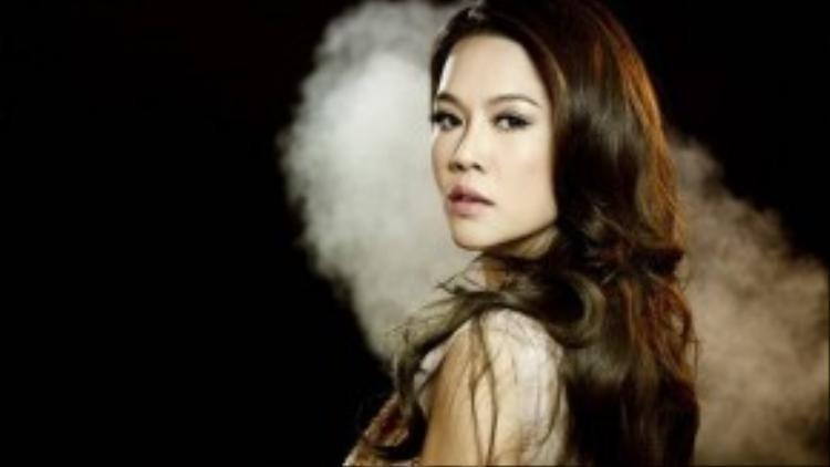 Ca sĩ Thu Phương.