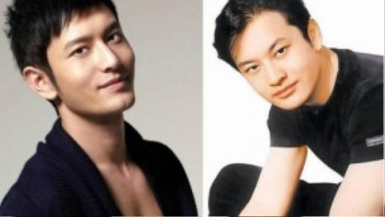 Huỳnh Hiểu Minh cũng bị đặt nghi vấn thẩm mỹ vì ảnh khác hản.