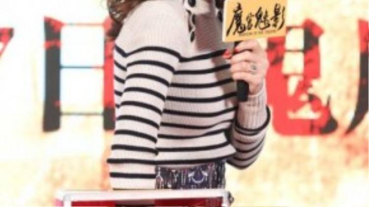 Nụ cười rạng rỡ của người đẹp Đài Loan.