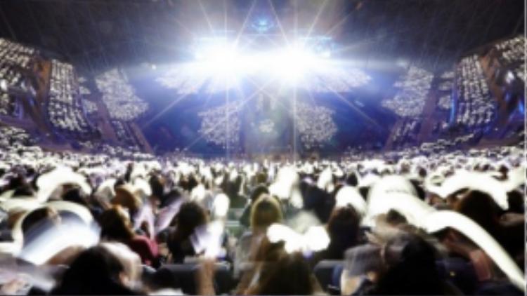 Toàn cảnh concert của EXO tại Gocheok Sky Dome.