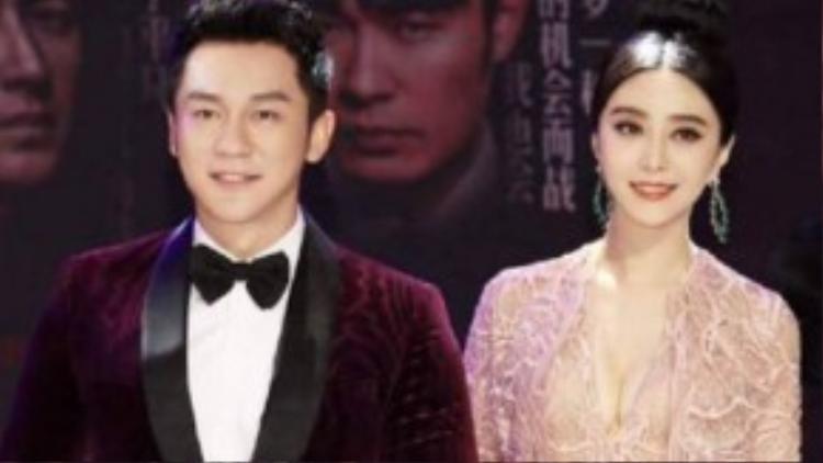 Phạm Băng Băng và Lý Thần vướng tin đồn cưới đầu năm 2016.