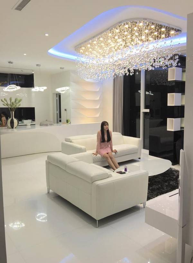 Lưu Thiên Hương khoe sở hữu nhà triệu đô không thua kém Ngọc Trinh