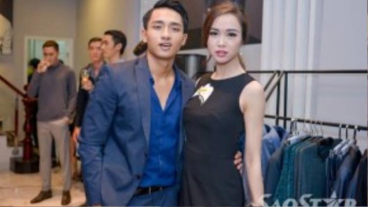 Siêu mẫu Hữu Vi thân thiết với diễn viên Quyên - Vũ Ngọc Anh.