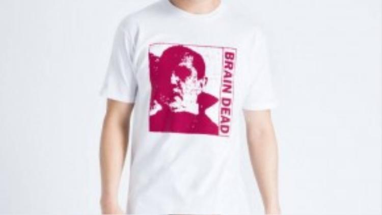 7. Brain Dead: Brain Dead - thời trang đường phố được ưa chuộng nhất trong thời gian gần đây. Thương hiệu lấy cảm hứng từ văn hóa trượt ván của những bạn trẻ, nhưng đó không phải mà mục tiêu chính của hãng.