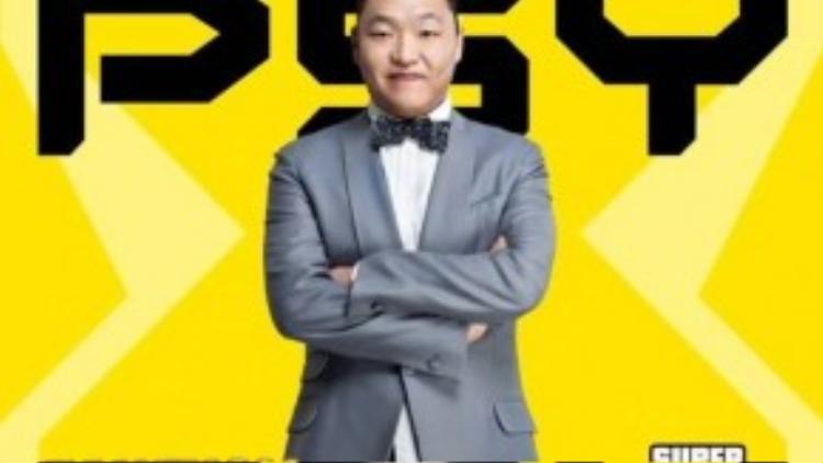 Hình ảnh Psy được phía nhà tổ chức đăng tải trên trang cá nhân, xác nhận nam ca sĩ sẽ đến Việt Nam biểu diễn.