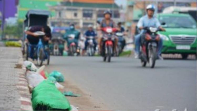 """Cầu Chợ Cầu nằm giữa quận 12 và Gò Vấp từ lâu đã """"nổi tiếng"""" là một trong những cây cầu bẩn nhất Sài Gòn. Mỗi ngày có hàng tá rác thải được nhiều người tập kết ở đây. Rác từ khu chợ bên cạnh, lẫn rác của những người dân vô ý thức của khu vực khiến cho cây cầu này không khác gì một bãi rác mini, gây ô nhiễm."""