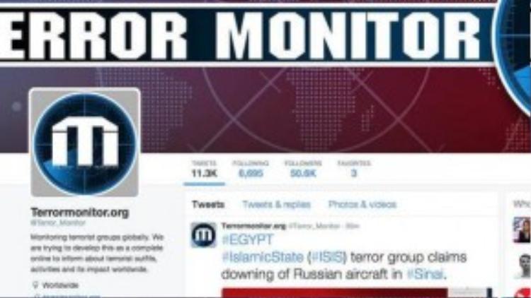 Thông báo nhận trách nhiệm bắn hạ chiếc máy bay dân sự Nga được trang tin khủng bố IS phát đi nhằm trả đũa hành vi can thiệp của Nga tại Syria.