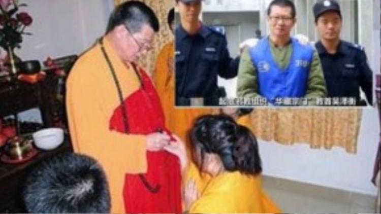 Nhà sư giả danh Wu Zeheng bị kết án chung thân vì tội lừa đảo phụ nữ quan hệ với hắn và chiếm đoạt tài sản.