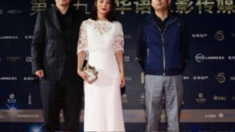 Vợ chồng Trần Kiến Bân - Thủy Linh.