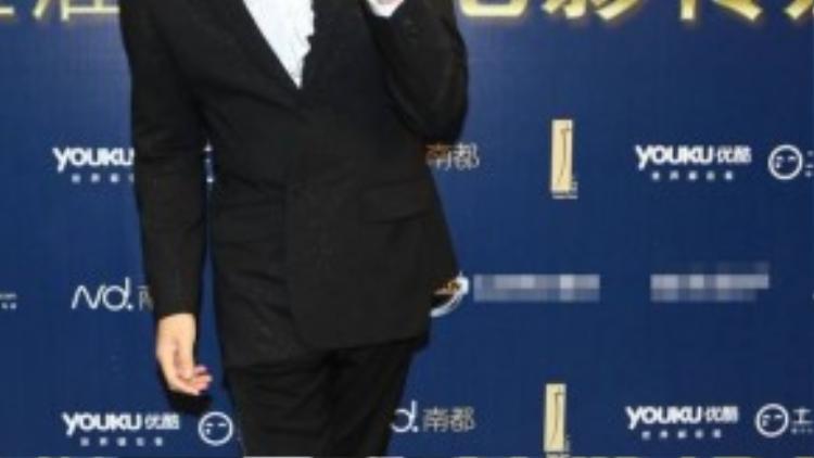 Trương Trí Lâm hạnh phúc khi nhận giải Nam diễn viên được yêu thích.