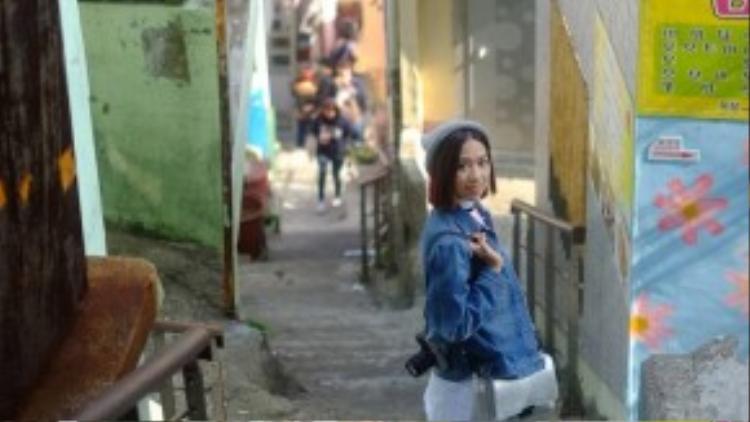 Ngôi làng cổ Gamchon Village, với lối kiến tạo độc đáo thu hút du khách.