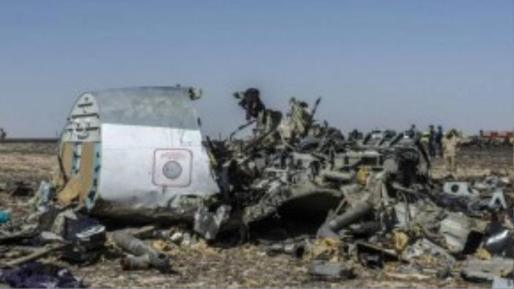 Hiện trường vụ tai nạn thảm khốc làm 224 người thiệt mạng.