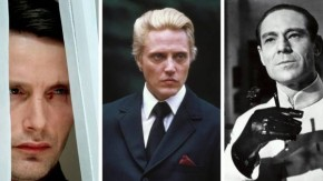 Mads Mikkelsen (Casino Royale), Christopher Walken (A View to a Kill), Joseph Wiseman (Dr. No).