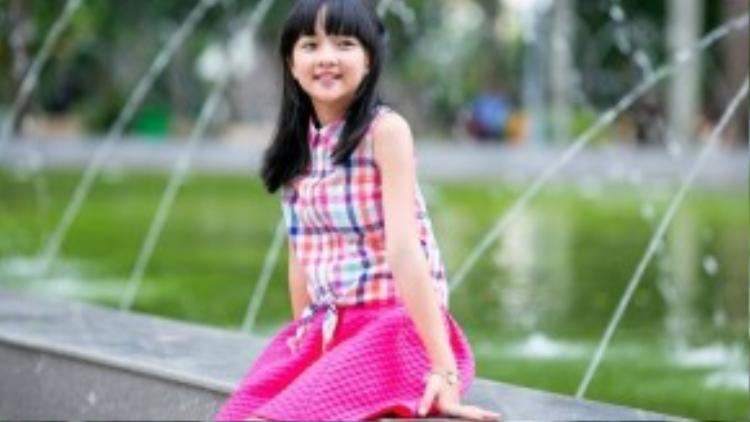 Hóa thân thành nhiều nhân vật khác nhau nhưng khi trở về cuộc sống đời thường, Thanh Mỹ lại trở về đúng lứa tuổi lên 10 của mình với những sở thích và phong cách sống như bao cô bé khác.