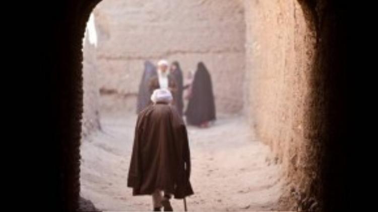 Garfors ghi lại hình ảnh một cụ già ở Herat, Afghanistan.