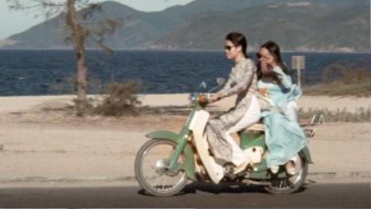 """Honda Super Cub, mẫu xe đình đám thời kỳ này được nhiều """"quý bà"""" lựa chọn."""