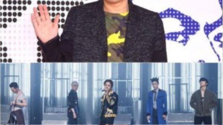 Big Bang và ông chủ Yang Hyun Suk có mối quan hệ khá thân thiết.