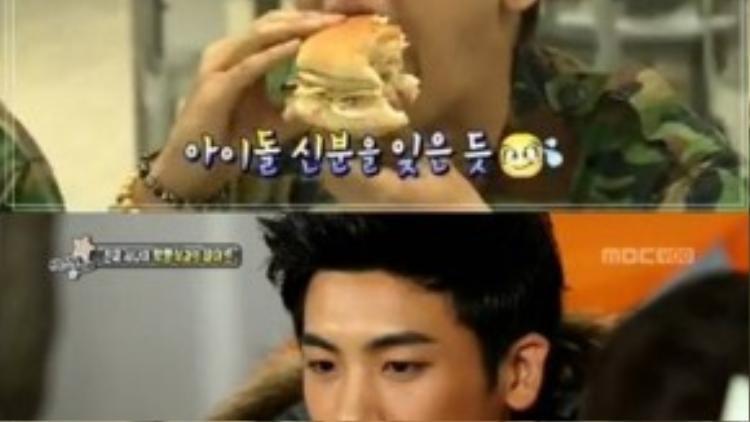 Thành viên Park Hyung Sik của ZE:A tiết lộ anh có thể ăn tới 4 khẩu phần mì ramen mà không sợ tăng cân.