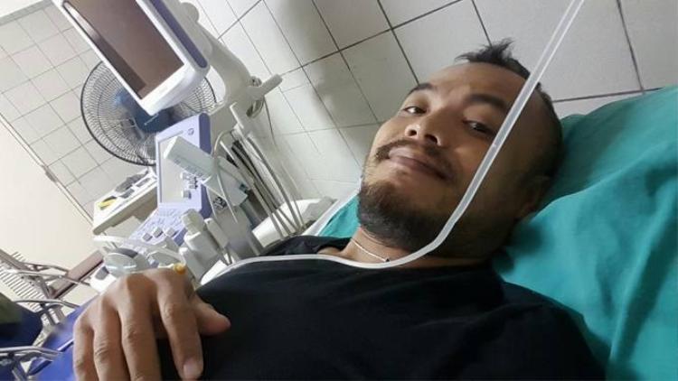 Ca sĩ Trần Lập vướng bệnh ung thư