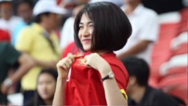Hòa Minzy luôn theo sát và ủng hộ U23 trong thời gian qua.