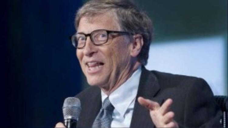 """6. Nhà đồng sáng lập Microsoft Bill Gates cũng nắm vị trí quyền lực thứ 6 trong danh sách. Nhà tỉ phú giàu nhất thế giới này còn rất tích cực hoạt động từ thiện vì người nghèo. Hồi đầu năm 2015, cùng với vợ mình, Bill Gates tuyên bố mục tiêu mới của quỹ từ thiện mang tên hai vợ chồng rằng """"Cuộc sống của người nghèo sẽ được cải thiện trong 15 năm tới""""."""