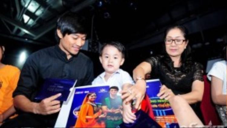 Lê Phương từng chia sẻ con trai Cà Pháo rất thích Quý Bình và thường gọi Quý Bình bằng bố. Và cô cũng rất trân trọng tình cả mà Quý Bình dành cho con trai của của mình.