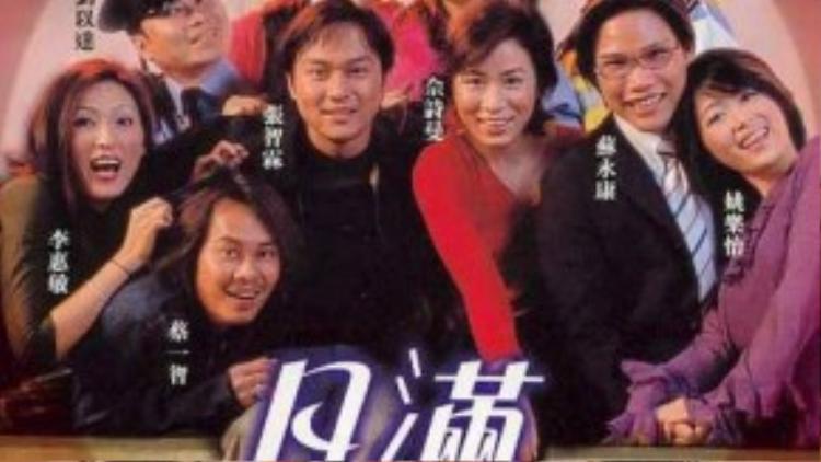 Những năm đầu 2000, cặp đôi Xa Thi Mạn - Trương Trí Xem được xem cặp đôi đẹp nhất màn ảnh.
