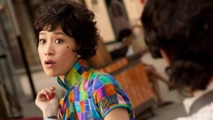 """Trong """"72 khách trọ"""" (2010), Xa Thi Mạn xuất hiện vô cùng cá tính."""