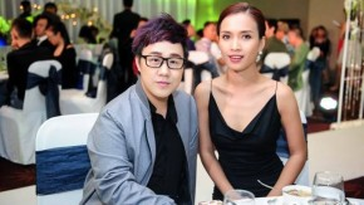 Trung Quân Idol và cô bạn thân, ca sĩ Ái Phương.