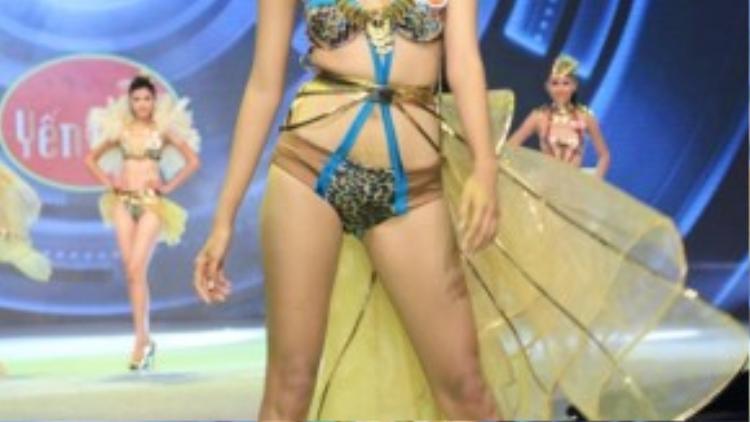 Vẻ đẹp của cô từng được cho là không hợp với tiêu chí dịu dàng, nền nã của người Việt Nam nhưng lại rất thích hợp với tiêu chuẩn thế giới. Cô đang chuẩn bị gấp rút cho cuộc thi Hoa hậu Thế Giới sắp diễn ra trong thời gian tới.