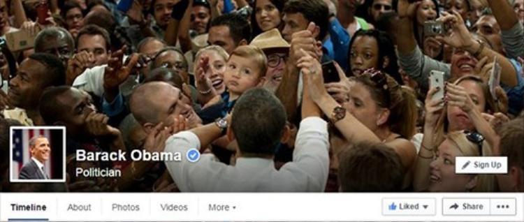 Tổng thống Obama chính thức dùng Facebook