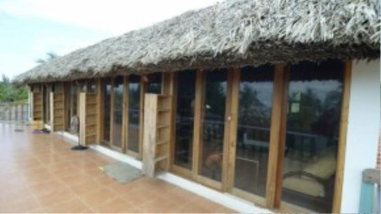 Khu vực hoàn thiện và được săn đón nhiều nhất ở Coco Beachcamp. Ảnh: FB Vương Đoàn