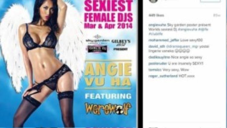 Angie Hà Vũ được xem là một trong những nữ DJ nóng bỏng nhất thế giới.