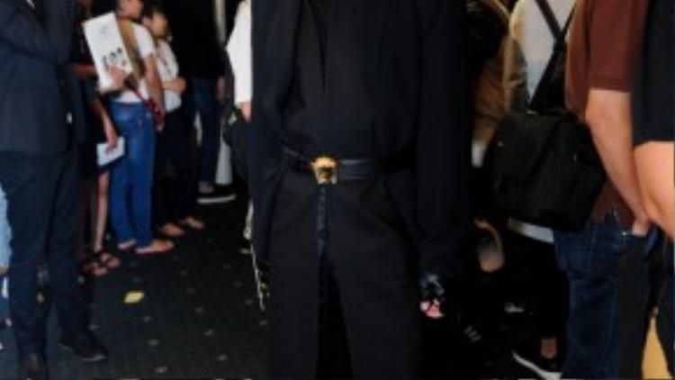 Nhiều người đã phỏng đoán Kelbin Lei trở thành fashionista của Lynk fashion show.