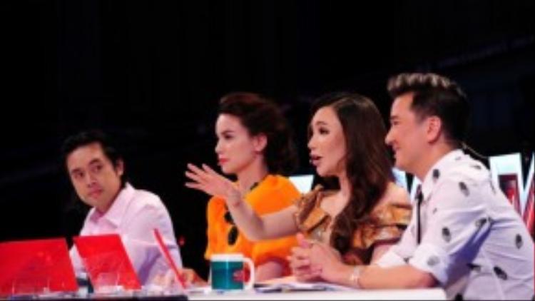 Dàn giám khảo quyền lực của X-Factor mùa thứ nhất.