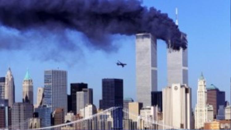 Vụ khủng bố nước Mỹ vào ngày 11/9/2001 do lực lượngHồi giáo Talibanthực hiệngây chấn động thế giới.