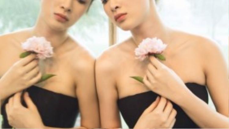 Bộ ảnh được thực hiện bởi nhiếp ảnh gia Thiên Minh, trang điểm Tùng Châu và hỗ trợ trang phục bởi Lê Thanh Hoà.