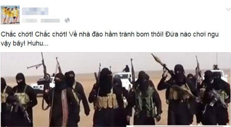 Dở khóc dở cười trước thông tin IS đến Việt Nam