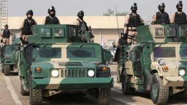 Quân chính phủ Iraq hiện bất lực trong cuộc chiến chống lại IS.