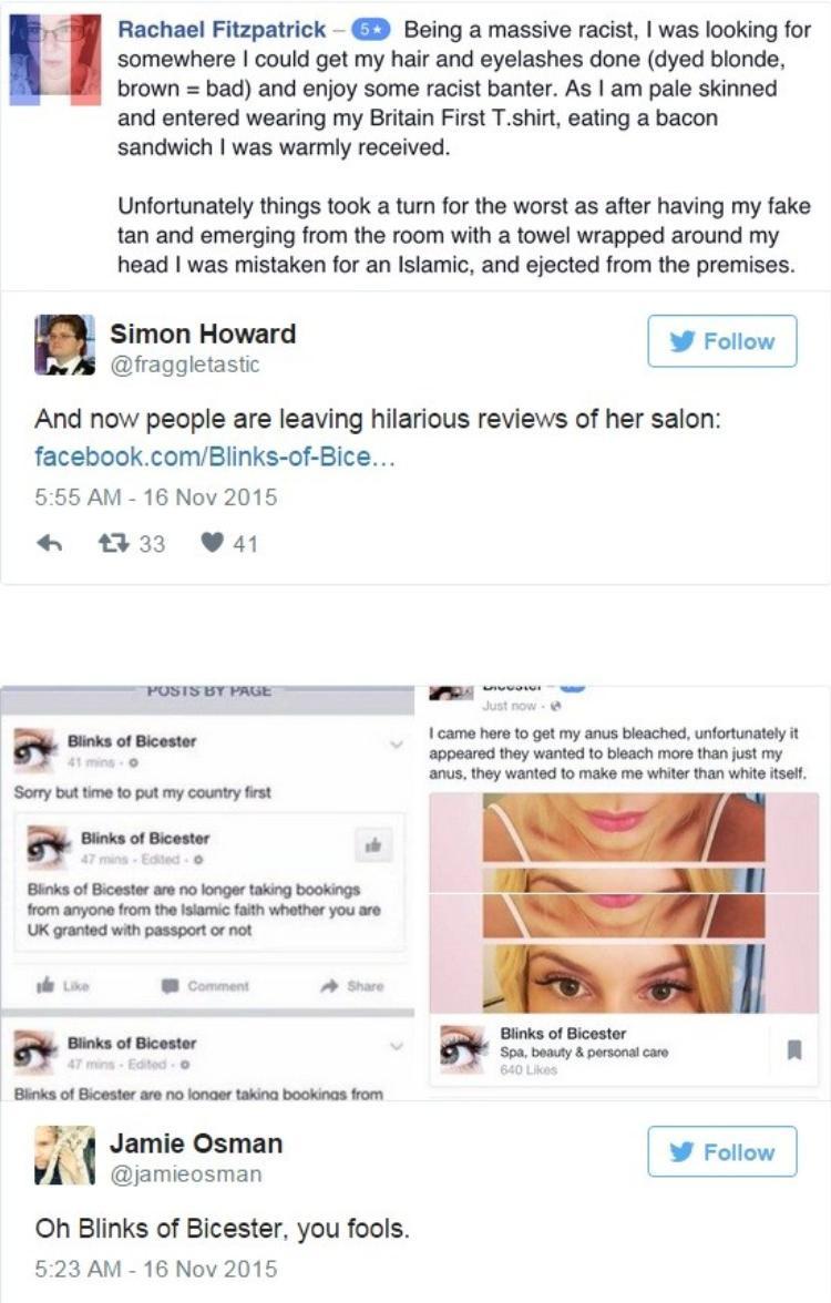 Chủ tiệm làm đẹp bị bắt vì đăng Facebook chê khách đạo Hồi