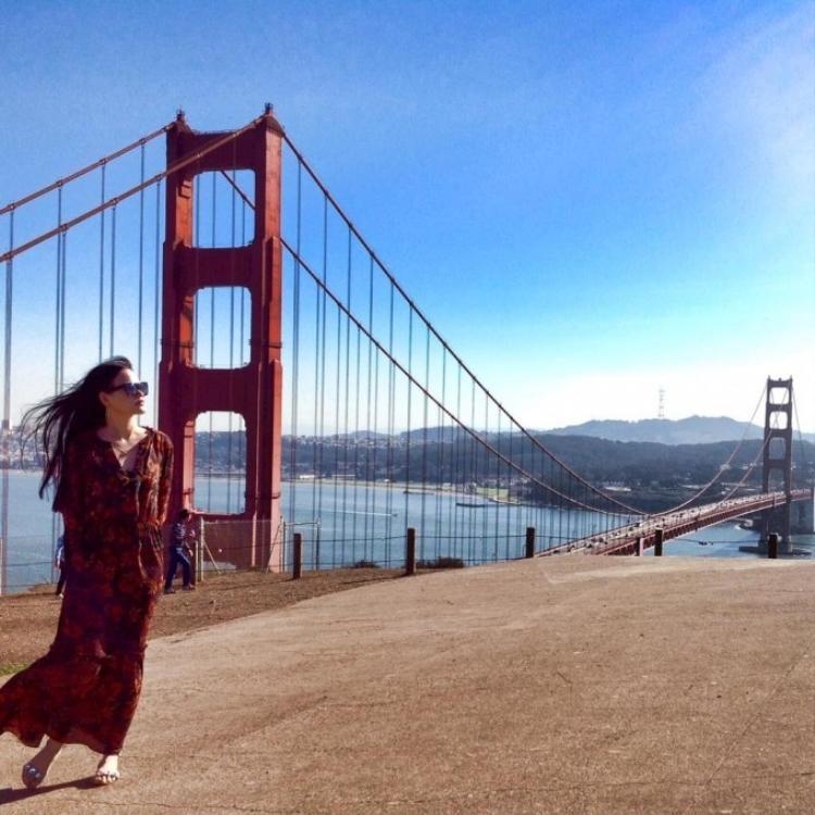 Những khoảnh khắc đẹp như ngôn tình của Tuyết Lan và chàng Việt kiều Mỹ
