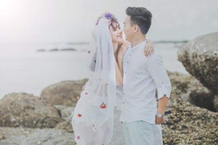 Chuyện tình đẹp như tiểu thuyết của hot girl Hà Min