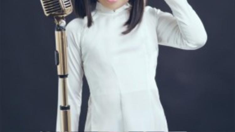Giọng ca nhí Ju Uyên Nhi - quán quân Gương mặt thân quen nhí mùa 1.