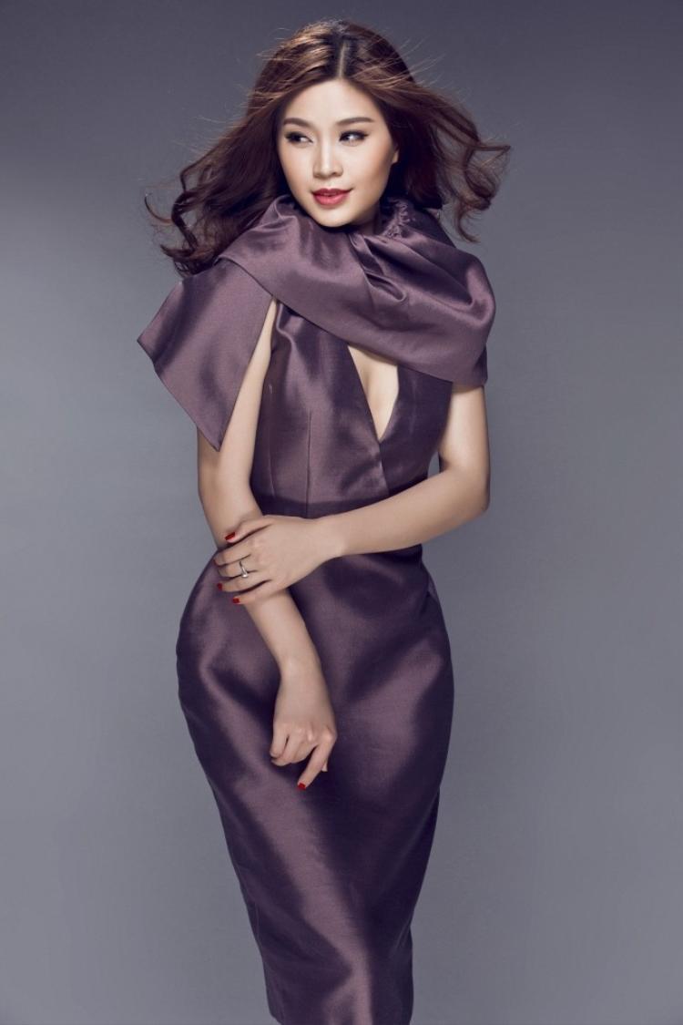 Diễm Trang ngày càng mặn mà, bật mí cưới chồng trong tháng tới