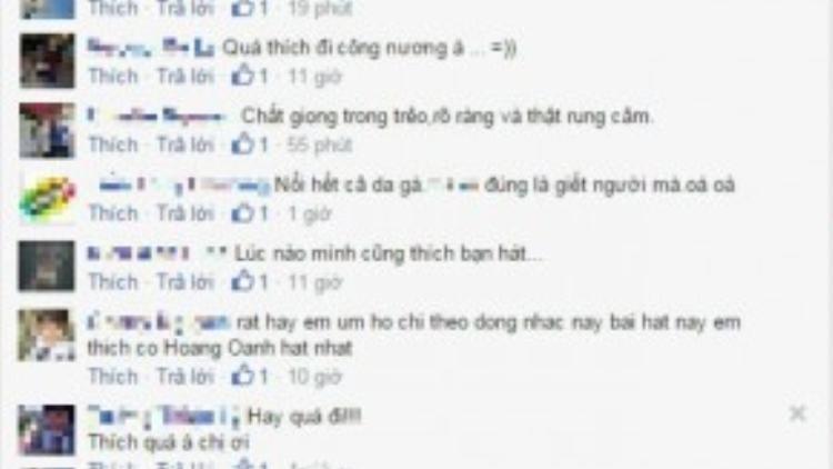 """Hồ Quỳnh Hương nhận """"cơn mưa"""" lời khen từ các fan cho bản thu này."""