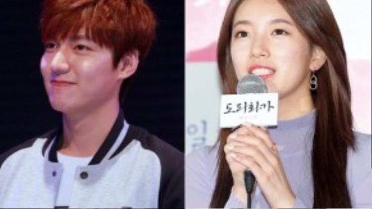 Sau khi công khai hẹn hò Suzy, Lee Min Ho chưa một lần nhắc đến bạn gái.