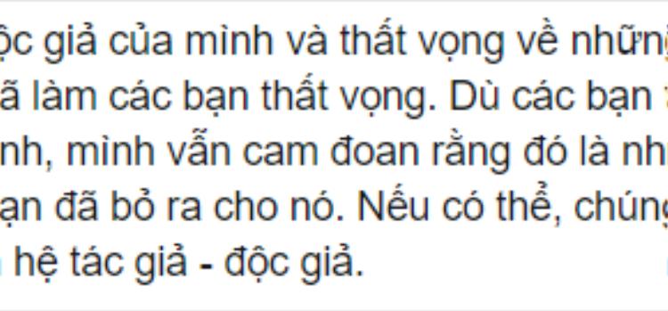Trích dòng chia sẻ của Nguyễn Ngọc Thạch trên facebook cá nhân.