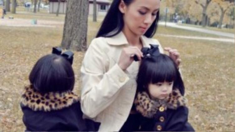Cô luôn dành cho các con sự chăm sóc tận tình về tình cảm chứ không dùng đòn roi để răn dạy.